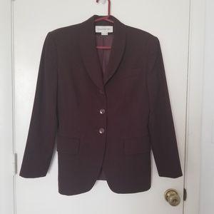 Classic Wool Single Breasted Jacket / Blazer
